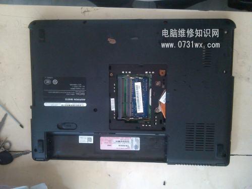 戴尔m4010笔记本电脑拆机清洁图解