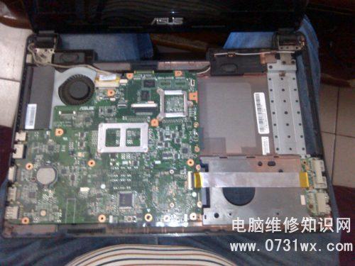 6515b笔记本电脑主板故障维修